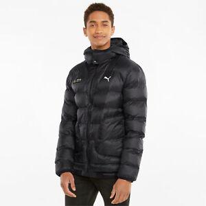 Puma Mercedes F1 Ready to React EcoLite Jacket Men's Black Sportswear Outwear
