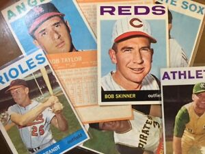 1964 Topps Baseball Singles - Pick Your Card - Numbers 371-522