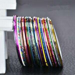 14* Tinsel Fly Tying Material Shinning Lines Tape Holographic Line Tape Durable