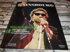 SIGNE GAINSBOURG MARILOU REGGAE DUB 1980 COLLECTION OFFICIELLE LIVRE + CD