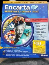 Encarta Reference Library 2003, Microsoft, All the Knowledge!. #1 encyclopedia