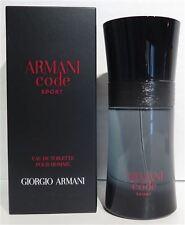 GIORGIO ARMANI SPORT code 50ml EdT Eau de Toilette Spray NEU/OVP