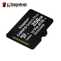 Kingston Canvas Select Plus 256Go MicroSDXC C10 Cartes Mémoire + Adaptateur