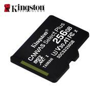 Kingston Canvas Select Plus 256Go MicroSDXC C10 Cartes Mémoire + Adaptateur