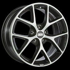 BBS 18 x 8 SR Car Wheel Rim 5 x 100 Part # SR024VGPK