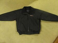 DISH TV...BLACK WORK JACKET..ADULT LARGE..BY PORT AUTHORITY...NEW