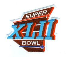 NFL AFL SUPER BOWL XLII SUPERBOWL SB 42 JERSEY PATCH NY GIANTS SUPER BOWL PATCH