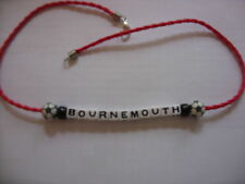 bournemouth football necklace