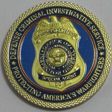 DEFENSE CRIMINAL INVESTIGATIVE SERVICE DCIS SPECIAL AGENT CHALLENGE COIN