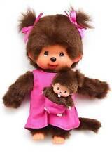 MONCHHICHI MOTHER CARE/BABY mcc Original Sekiguchi  Monchichi monkey Doll toy