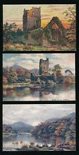 Ireland KILLARNEY Collection x5 Artists Landscape Tuck Oilette 7283 PPCs