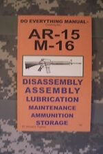 AR-15 M-16 Do Everything Manual Jem Enterprises #5053