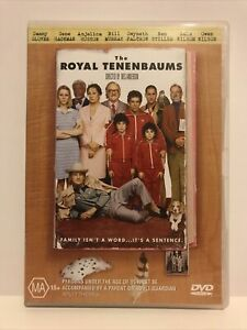The Royal Tenenbaums (DVD 2002) Wes Anderson Bill Murray Ben Stiller Region 4