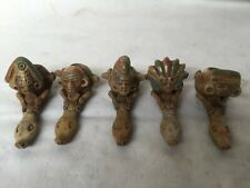pipes terre cuite  maya aztec amerique centrale