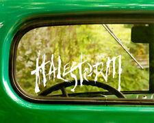 2 HALESTORM DECAL Stickers For Car Window Bumper Truck Laptop Jeep Rv
