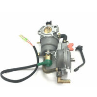 Carburetor Dual Fuel Engine Generator For Honda GX390 188F 5KW AUT Choke Spare