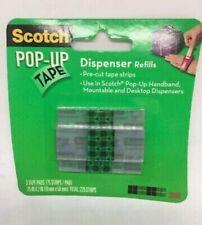 2 Packs Of Three - Scotch Pop Up Tape Dispenser Refills **Brand New**