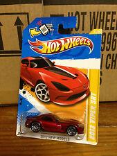 Hotwheels 2013 Dodge Viper SRT Red 2012 New Models VHTF ACR Rare MONMC