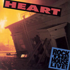 FREE US SHIP. on ANY 2 CDs! NEW CD Heart: Rock the House Live