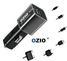 Three OZIO D11 Cellphone Car Charger with multiple outputs