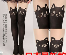 Sexy Women Cat Tail Gipsy Mock Knee High Hosiery Pantyhose Tattoo Tights Fashion