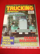 TRUCKING INTERNATIONAL - MODEL TRUCKING - Dec 1991