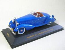 SUPERB IXO 1/43 Museum Series Packard V12 LeBaron Speedster 1934 in Blue MUS043