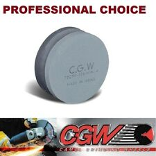 Two in One, CGW Dual Grit, Round Combination Stone, Green Silicon Carbide