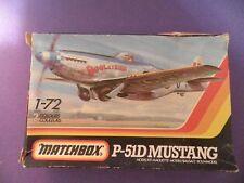 Matchbox P-51D Mustang Model Kit 1:72 scale DOOLEYBIRD.