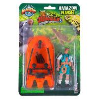 3 PC Jungle Animal Raft Set Action Figure Kids Children Toys Amazon Playset