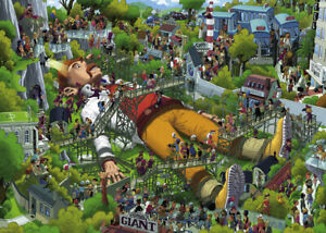 Heye - Oesterle, Gulliver Puzzle 1000pc
