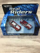 HOT WHEELS REAL RIDERS LIMITED EDITION '67 CAMARO AND '06 CAMARO CONCEPT E1