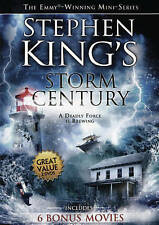Stephen Kings Storm of the Century + 6 Bonus Movies (DVD 2 Disc 2015) New Sealed