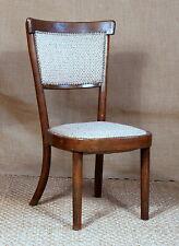 Chauffeuse chaise basse vintage style bistrot bois courbé genre baumann