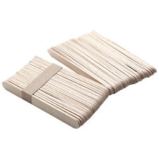 50 Pcs Disposable Wax Waxing Wooden Body Hair Removal Stick Applicator Spatula