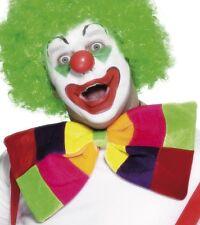 Cirque clown fancy dress jumbo noeud papillon géant multi couleur neuf par smiffys