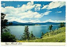 Upper Klamath Lake Postcard Oregon Largest Fresh Water Fishing Posted 1971 Vtg