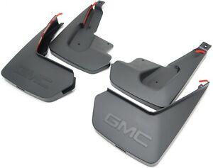 For 2007-2014 GMC Yukon XL 1500 Mud Flaps Rear Husky 21562FF 2013 2009 2008 2010