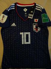 """Maillot de foot Femme Japon """"Olive et Tom"""". Flocage Atom et son numéro 10"""