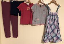 Girls Bundle Of Clothing Age 5-6 Lille Barn H&M Indigo <D2223