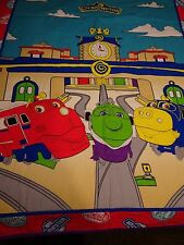 Handmade Chuggington Train Panel Quilt