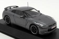 Hot Wheels 1/43 Scale 03742NU - Nissan GT-R - Nurburgring Test Car - Grey
