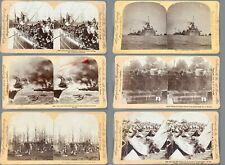 6 Spanish American War Stereoviews - Stereoview - Keystone - 1898