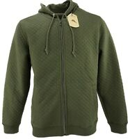 New Tommy Bahama Men's XL & 2XL Green Quilted Stretch Full Zip Hoodie Sweatshirt
