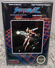 """Section Z Nintendo NES Vintage Game Box  2"""" x 3"""" Fridge Locker MAGNET"""