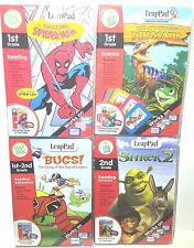 LeapPad by LeapFrog Reading Writing Learning System Lot of 4 New Books