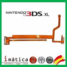 CABLE FLEX REGULADOR 3D Y ALTAVOCES NINTENDO 3DS XL BOTON RIBBON VOLUMEN LCD