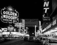 1950s VINTAGE PHOTO OF THE LAS VEGAS STRIP - 8X10 PHOTO (BB-608)