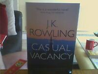 The Casual Vacancy-J.K.Rowling Paperback English Genre Fiction Sphere 2013