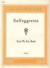 C. PH. E. Bach / Solfeggietto